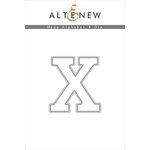Altenew - Dies - Mega Alphabet - X