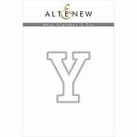 Altenew - Dies - Mega Alphabet - Y