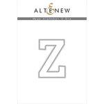 Altenew - Dies - Mega Alphabet - Z