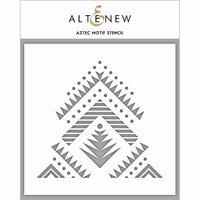 Altenew - Stencil - Aztec Motif