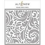 Altenew - Stencil - Elegant Swirls