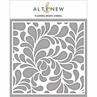 Altenew - Stencil - Flowing Drops