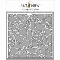 Altenew - Stencil - Mega Hydrangea