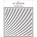 Altenew - Stencil - Molded Lines