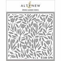 Altenew - Stencil - Spring Garden
