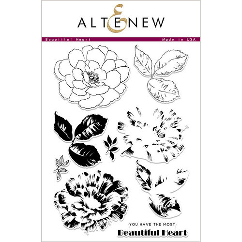 Altenew - Clear Photopolymer Stamps - Beautiful Heart