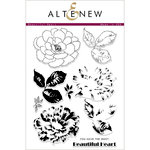 Altenew - Clear Acrylic Stamps - Beautiful Heart