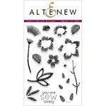 Altenew - Clear Acrylic Stamps - Embroidered Blooms