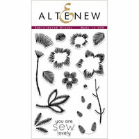 Altenew - Clear Photopolymer Stamps - Embroidered Blooms