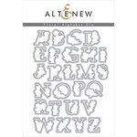 Altenew - Dies - Floral Alphabet