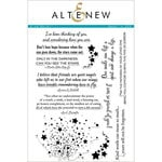 Altenew - Clear Acrylic Stamps - Kind Words