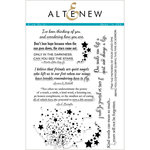 Altenew - Clear Photopolymer Stamps - Kind Words