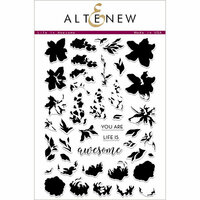 Altenew - Clear Photopolymer Stamps - Life Is Awesome