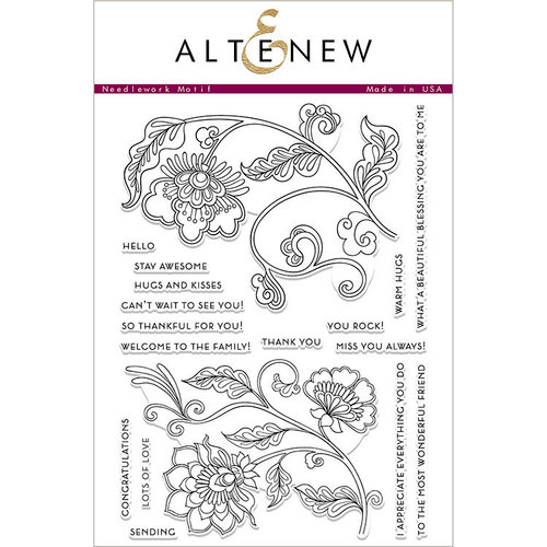 Altenew Needlework Motif
