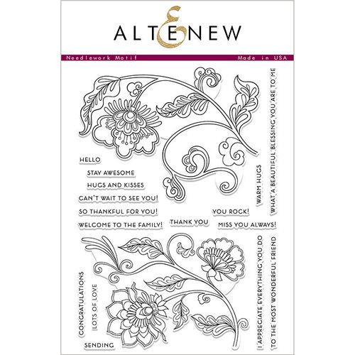 Altenew - Clear Photopolymer Stamps - Needlework Motif
