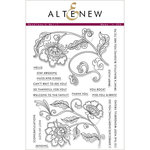 Altenew - Clear Acrylic Stamps - Needlework Motif