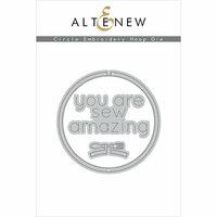 Altenew - Dies - Circle Embroidery Hoop