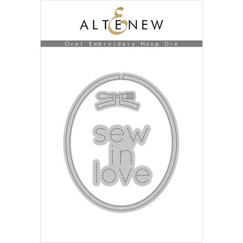 Altenew - Dies - Oval Embroidery Hoop