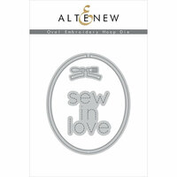 Altenew - Dies - Oval Embroidery Hoop