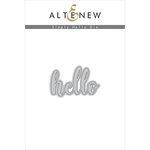Altenew - Dies - Simply Hello