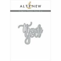 Altenew - Dies - Simply Thank You