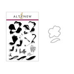 Altenew - Die and Clear Acrylic Stamp Set - Build A Flower - Peruvian Lily
