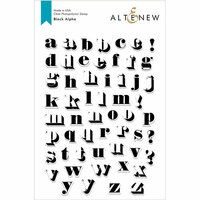 Altenew - Clear Photopolymer Stamps - Block Alpha
