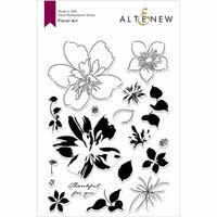 Altenew - Clear Photopolymer Stamps - Floral Art