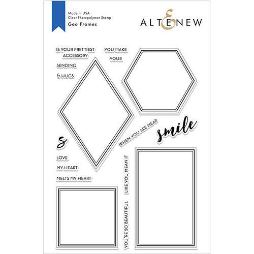 Altenew - Clear Photopolymer Stamps - Geo Frames
