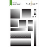 Altenew - Clear Photopolymer Stamps - Halftone Squares