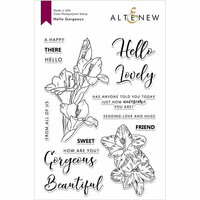 Altenew - Clear Photopolymer Stamps - Hello Gorgeous