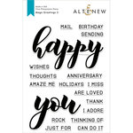 Altenew - Clear Photopolymer Stamps - Mega Greetings 2