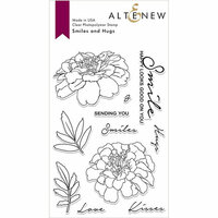Altenew - Clear Photopolymer Stamps - Smiles and Hugs