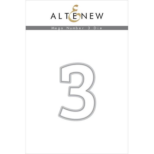 Altenew - Dies - Mega Number - 3