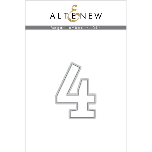 Altenew - Dies - Mega Number - 4