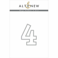 Altenew - Dies - Mega Number - 4