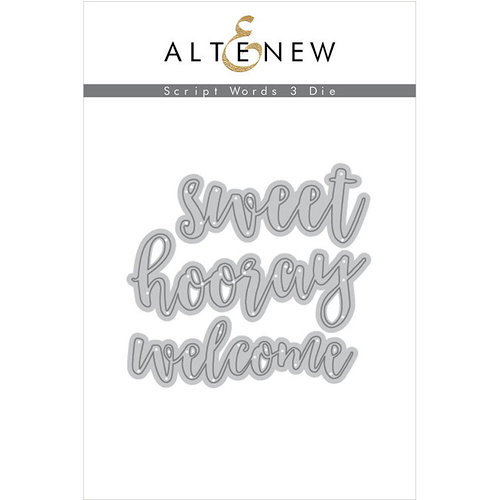 Altenew - Dies - Script Words 3