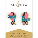 Altenew - Enamel Pin - Crafty Friends