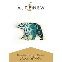 Altenew - Enamel Pin - Geometric Bear