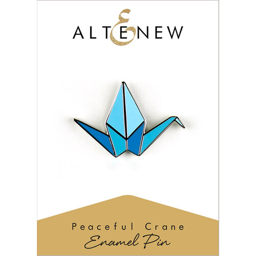 Altenew - Enamel Pin - Peaceful Crane