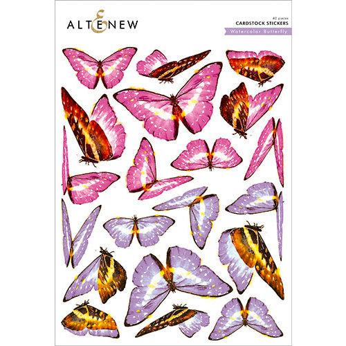 Altenew - Watercolor Butterfly - Cardstock Stickers