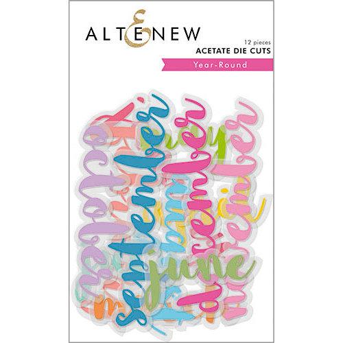 Altenew - Year-Round - Die Cut Acetate Pieces