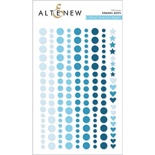 Altenew - Cool Summer Night - Enamel Dots