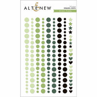 Altenew - Green Fields - Enamel Dots