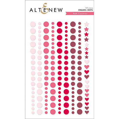 Altenew - Red Cosmos - Enamel Dots