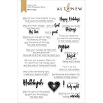 Altenew - Christmas - Clear Photopolymer Stamps - Blessings
