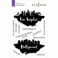 Altenew - Clear Photopolymer Stamps - California Skies