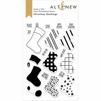 Altenew - Christmas - Clear Photopolymer Stamps - Christmas Stockings