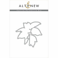Altenew - Christmas - Dies - Festive Poinsettia Die