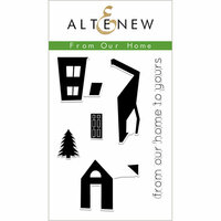 Altenew - Christmas - Clear Photopolymer Stamps - From Our Home